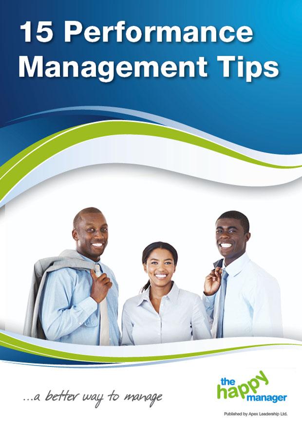 15 Performance Management Tips
