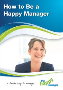 How to be a Happy Manager
