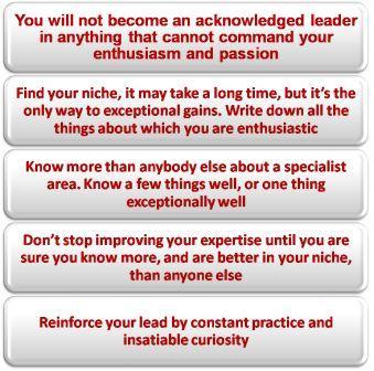 Career goal setting - enthusiasm!