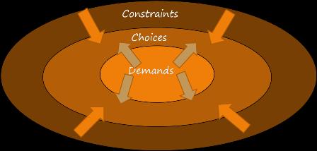 Demands - Constraints - Choices